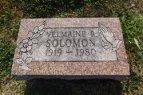 Velmaine Solomon headstone